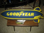 Good Year Blimp blow up display, 1960s, very very good condition, ships deflated, $55.